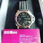 高級腕時計パネライ(LUMINOR PANERAI)高価買取!