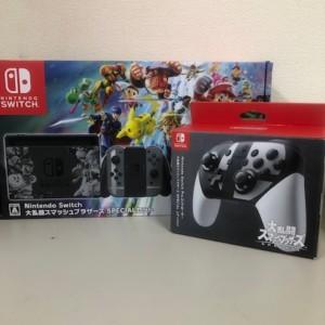 Nintendo Switch 大乱闘スマッシュブラザーズSPECIALセット+Proコントローラー