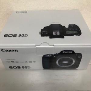 【新品未使用品】EOS 90D ボディ