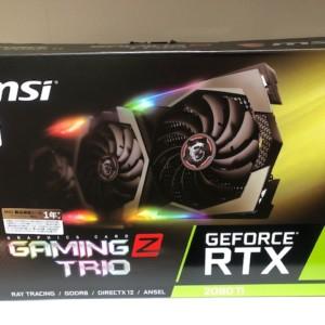 【新品未開封品】GeForce RTX 2080 Ti GAMING Z TRIO