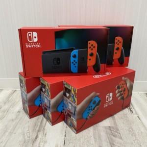 新型 Switch ネオンレッド×ネオンブルー 5台