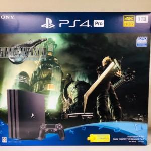PlayStation4 Pro 1TB FINAL FANTASY VⅡ REMAKE Pack