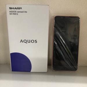 【新品未使用】AQUOS sense3 lite SIMフリー SH-RM12