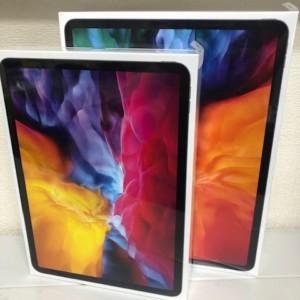 【新品未開封】第4世代iPad Pro(12.9インチ/256GB)+第2世代iPadPro(11インチ/128GB) 2台セット