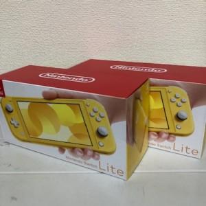 【新品未使用】Nintendo Switch Lite イエロー 2台