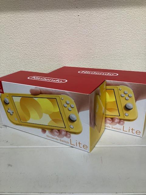 買取商品:【新品未使用】Nintendo Switch Lite イエロー 2台
