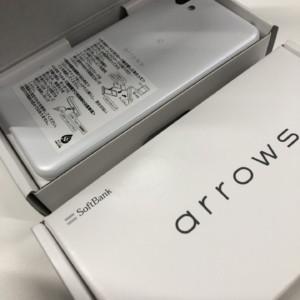 ARROWS U 801FJ SIMロック解除