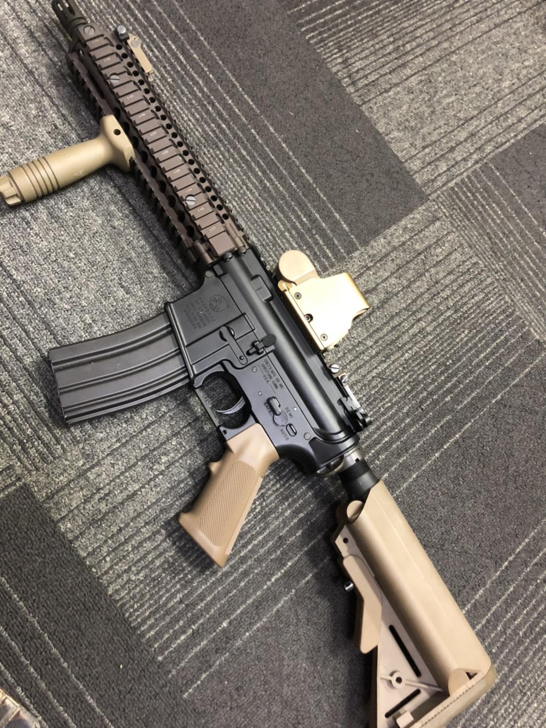 買取商品:COLT'S MFG モデルガン M4A1 CARBINE CAL5.56