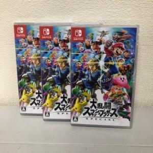 【新品未開封】Nintendo Switchソフト 大乱闘スマッシュブラザーズSPECIAL 3本