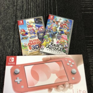 【新品未使用】Nintendo Switch Lite ソフト2点♪