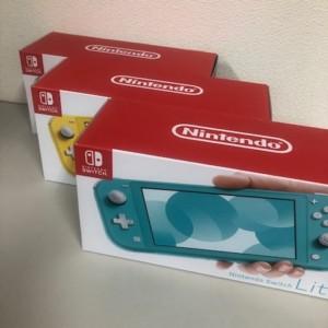 【新品未使用】Nintendo Switch Lite 3台