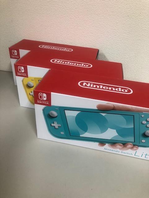買取商品:【新品未使用】Nintendo Switch Lite 3台
