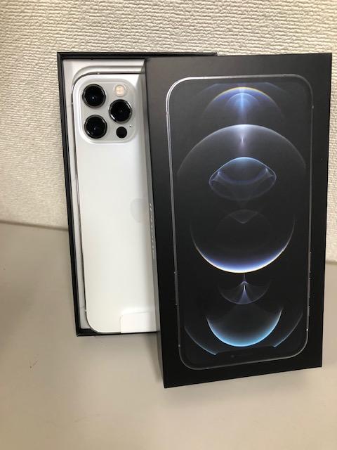 買取商品:【新品未使用】docomo iPhone12 pro 256GB ホワイト
