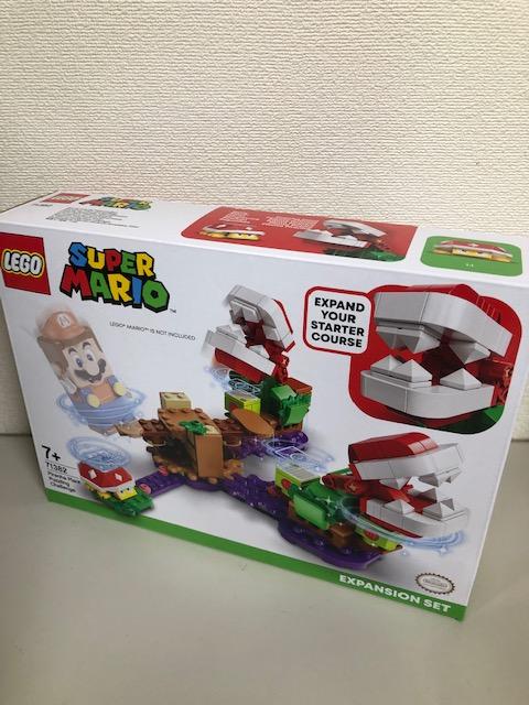 買取商品:【新品未開封】LEGO スーパーマリオ パックンフラワーのなぞときチャレンジ 71382