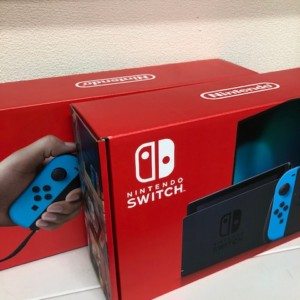 買取商品:【新品未使用】Nintendo Switch ネオン 2台
