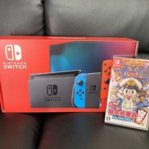 【新品】Nintendo Switch(本体) + 桃太郎電鉄(ソフト)