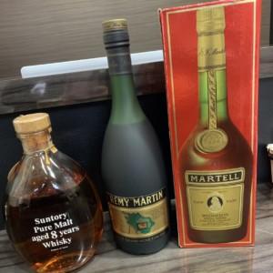 ブランデー・ウイスキー 各種