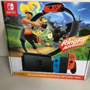 【新品未使用】Nintendo Switch リングフィットアドベンチャーセット