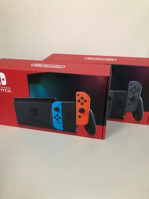買取商品:【新品未使用】Nintendo Switch ネオン/グレー