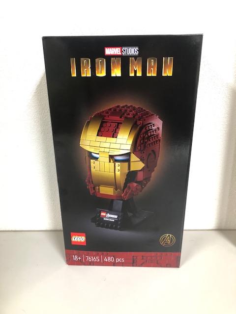 買取商品:【新品未開封】LEGO スーパーヒーローズ 76165 アイアンマン ヘルメット
