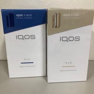 【新品未開封】IQOS3 DUO ブルー/ゴールド 2台