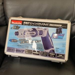 【新品】充電式ペンインパクトドライバ TD022DSHXW