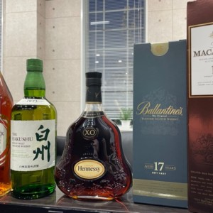 山崎・NIKKA・MACALLAN・COURVOISIER