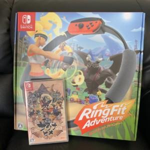 【新品】RingFitAdventure & 天穂のサクナヒメ