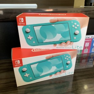【新品】Switch Lite ターコイズ (保証印なし)