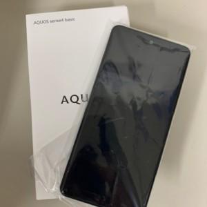 【新品未使用】Y!mobile SIMロック解除版 AQUOS sense4 basic A003SH