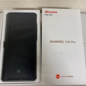 【中古美品】HUAWEI P30 Pro HW-02L