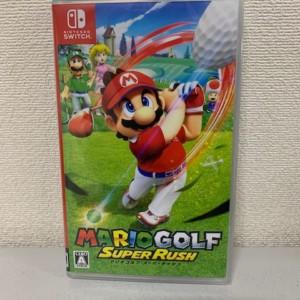 【新品未開封】スイッチソフト マリオゴルフ スーパーラッシュ