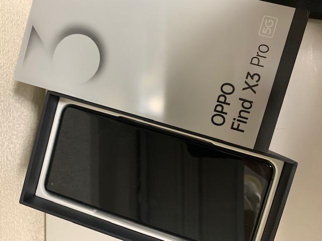買取商品:【中古美品】SIMフリー端末 OPPO Find X3 Pro