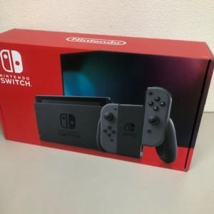 【新品未使用】Nintendo Switch グレー 印無し