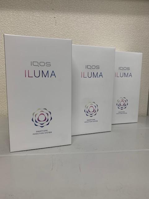 買取商品:【新品未開封】IQOS ILUMA 3台