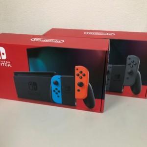 【新品未使用】Nintendo Switch ネオン/グレー 2台
