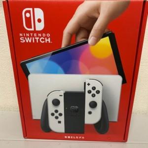 【新品未使用】Nintendo Switch 有機ELモデル ホワイト 保証印無し