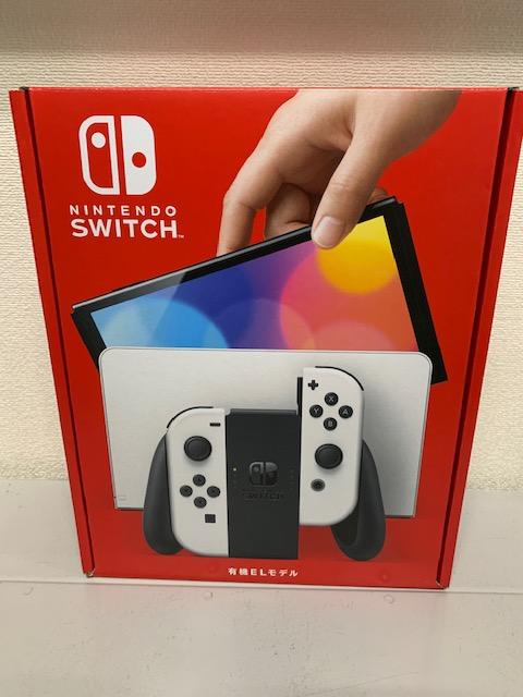 買取商品:【新品未使用】Nintendo Switch 有機ELモデル ホワイト 保証印無し