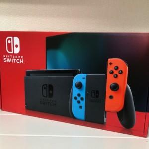 【新品未使用】Nintendo Switch ネオン 保証印無