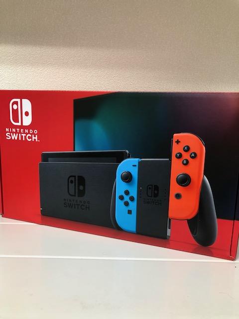 買取商品:【新品未使用】Nintendo Switch ネオン 保証印無